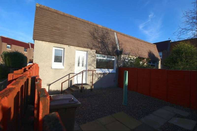 1 Bedroom Semi Detached Bungalow for sale in Meldrum Court, GLENROTHES, KY7