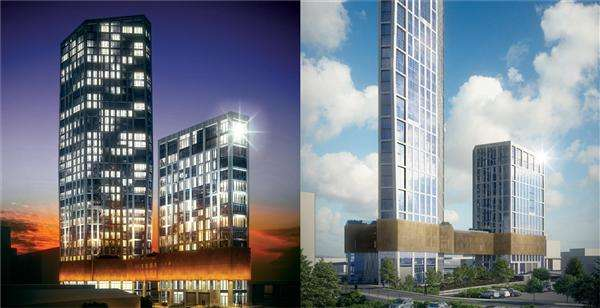 1 Bedroom Apartment Flat for sale in Sky View Towers, Stratford, London