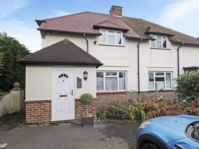 3 Bedrooms Semi Detached House for sale in Spacious three bedroom semi-detached property, quiet no-through road, close to Hurst Green station, driveway parking