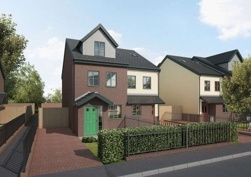 3 Bedrooms Semi Detached House for sale in PLOT 23 ORCHID, CLEE MEADOWS, LADYSMITH RD, GRIMSBY