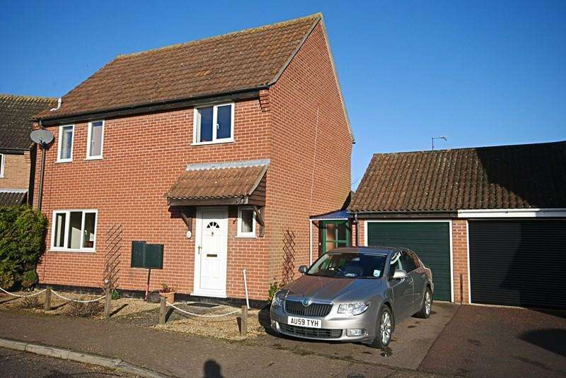 3 Bedrooms Detached House for sale in Pursehouse Way, Diss