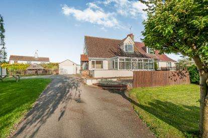 3 Bedrooms Semi Detached House for sale in Skegness Road, Partney, Spilsby, Lincolnshire