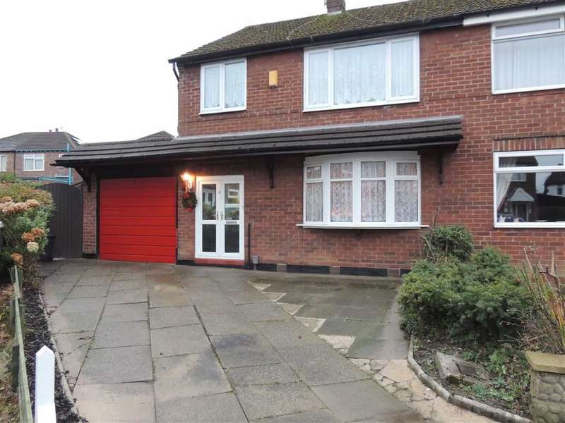 3 Bedrooms Property for sale in Prestwich Close, Offerton, Stockport