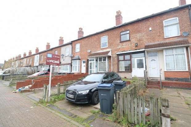 3 Bedrooms Terraced House for sale in Mount Pleasant Avenue, Handsworth, B21