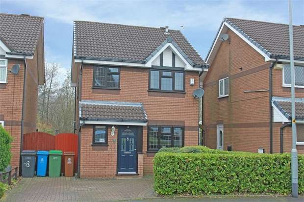 3 Bedrooms Detached House for sale in Swinford Grove, Royton, Oldham, Lancashire