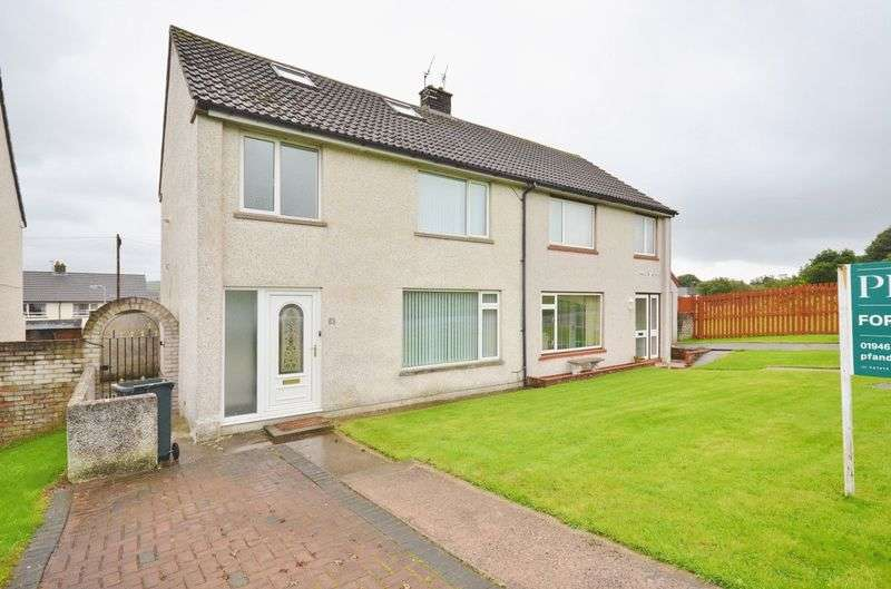 3 Bedrooms Semi Detached House for sale in Chaucer Avenue, Egremont