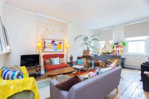 2 Bedrooms Maisonette Flat for sale in North End Road, London, W14
