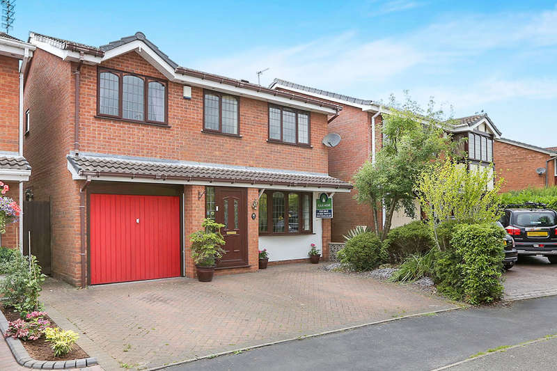 4 Bedrooms Detached House for sale in Fallowfield, Perton, Wolverhampton, WV6
