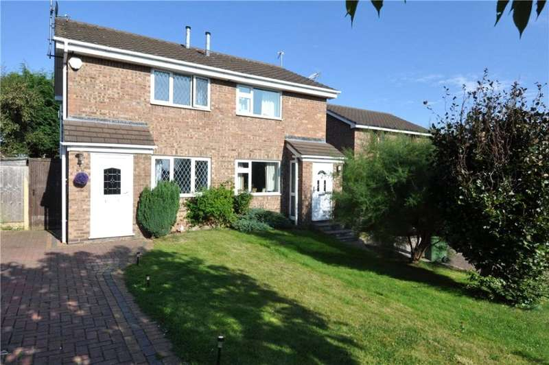 2 Bedrooms Semi Detached House for rent in Cowley Close, Upton, Wirral