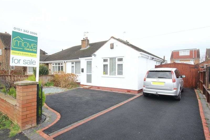 2 Bedrooms Semi Detached Bungalow for sale in Bridgenorth Road, Pensby, Wirral