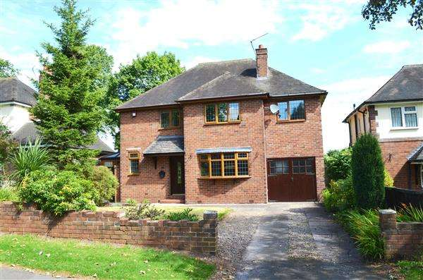 4 Bedrooms Detached House for sale in Abbots Way, Westlands, Newcastle-under-Lyme