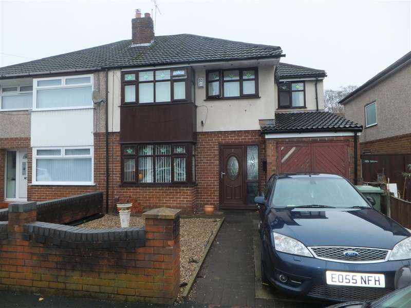 4 Bedrooms Semi Detached House for sale in Palmwood Avenue, Rainhill, Prescot