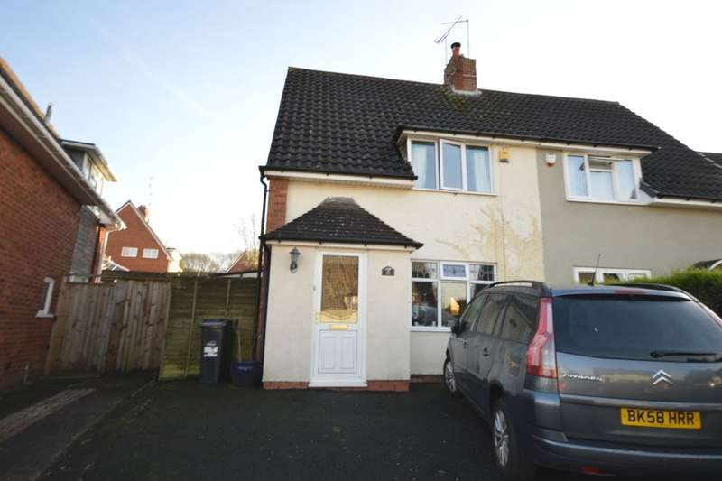 2 Bedrooms Semi Detached House for sale in Hawkesley Road, Dudley, DY1