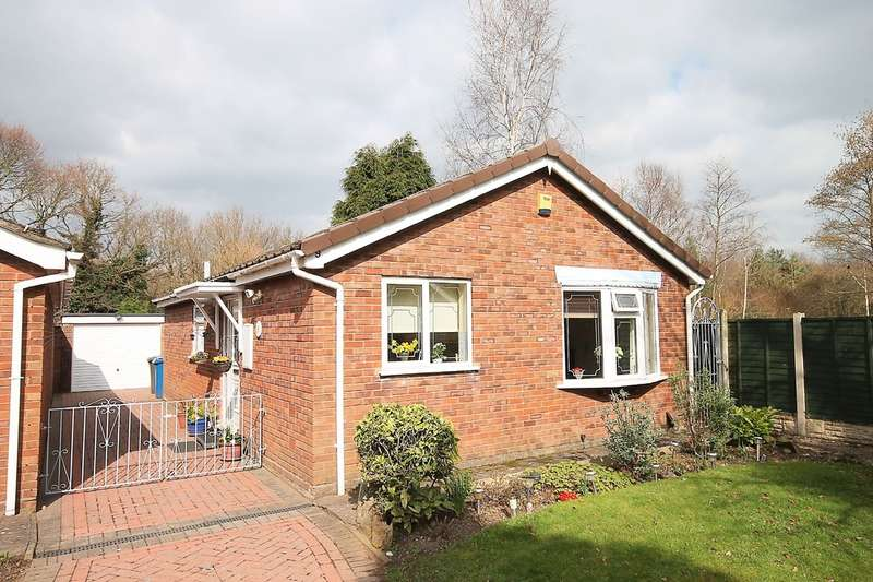 2 Bedrooms Detached Bungalow for sale in Aitken Close, Fazeley, Tamworth, B78 3LR