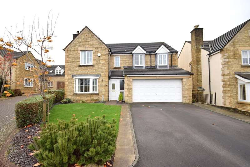 5 Bedrooms Detached House for sale in 4 Y Berllan, Broadlands, Bridgend, Bridgend County Borough, CF31 5ER