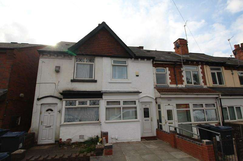 2 Bedrooms Terraced House for sale in Formans Road, Sparkhill, Birmingham