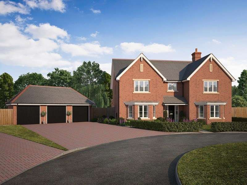 5 Bedrooms Detached House for sale in FOXHILLS, Kendal End Road, Barnt Green