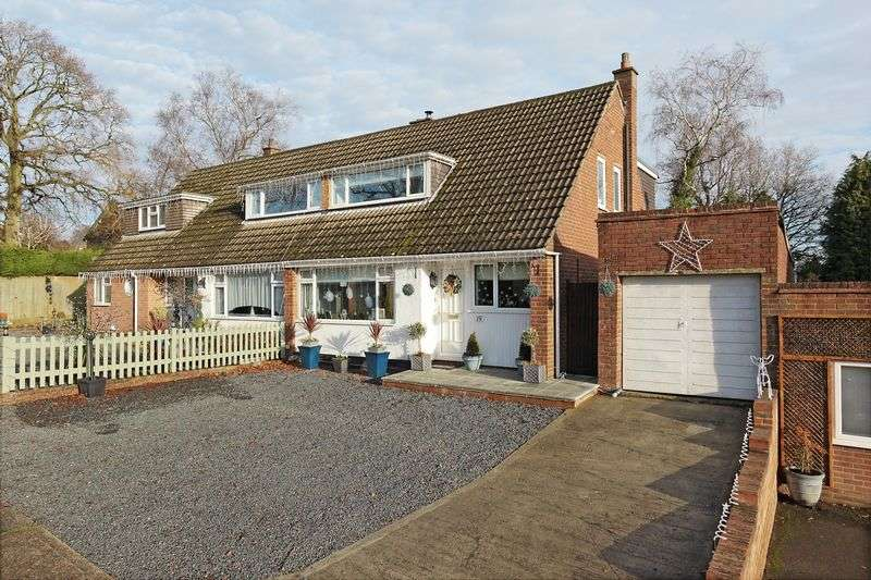3 Bedrooms Semi Detached House for sale in Herne Down, Crowborough, East Sussex
