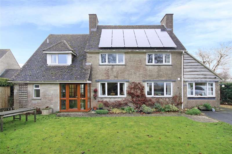 4 Bedrooms Detached House for sale in Field Road, Chedworth, Cheltenham, Gloucestershire, GL54