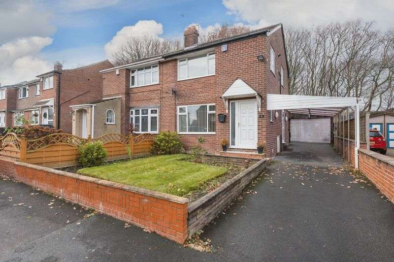 3 Bedrooms Semi Detached House for sale in Woodkirk Gardens, Dewsbury