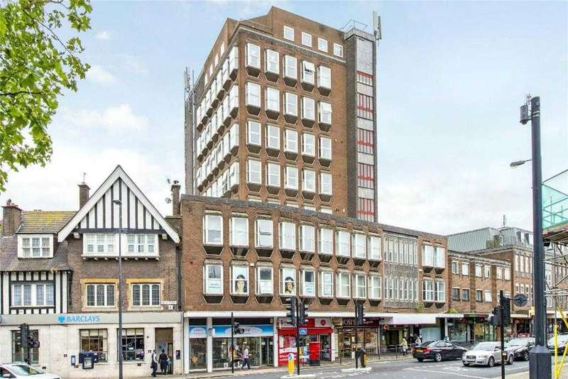 2 Bedrooms Apartment Flat for sale in Stanmore Towers, Church Road, Stanmore