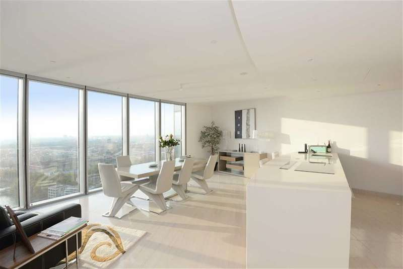 3 Bedrooms Property for sale in The Tower, Vauxhall, London, SW8