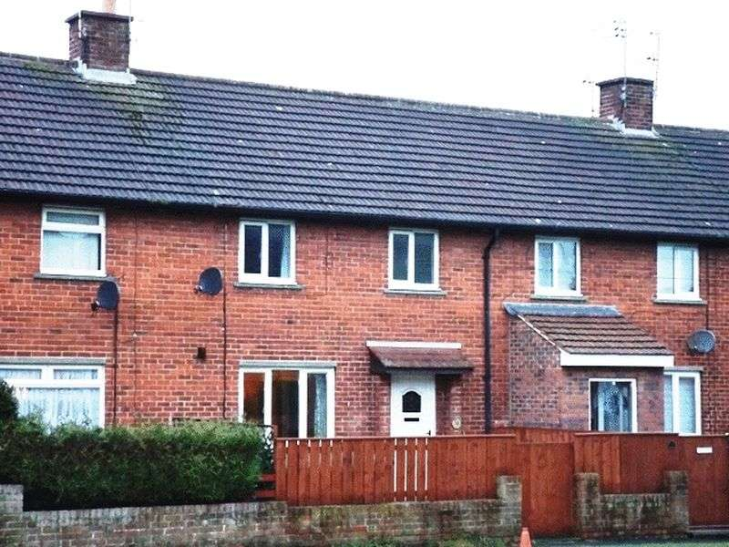 3 Bedrooms Terraced House for sale in Fontburn Gardens, Morpeth - Three Bedroom Terrace House