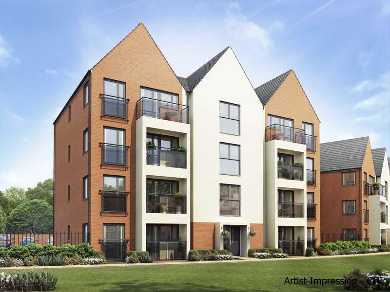 2 Bedrooms Apartment Flat for sale in Stony Manor, Kiln Farm