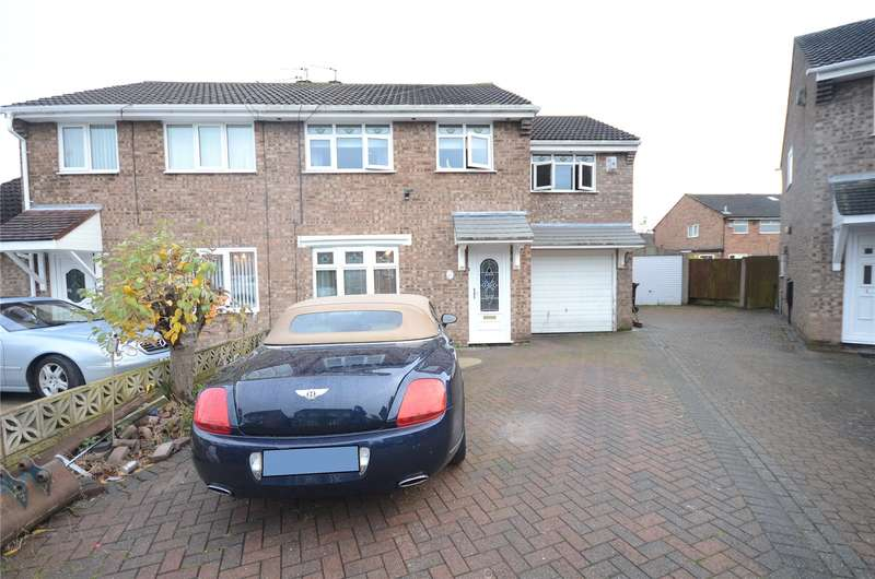 5 Bedrooms Semi Detached House for sale in Elworthy Avenue, Halewood, Liverpool, L26