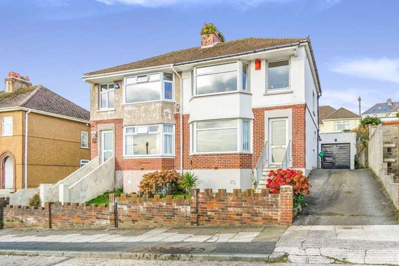 3 Bedrooms Semi Detached House for sale in Fairview Avenue, Plymouth, PL3