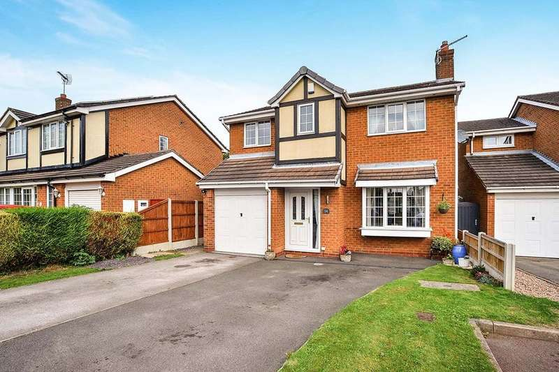 4 Bedrooms Detached House for sale in Bluebell Grove, NOTTINGHAM, NG17
