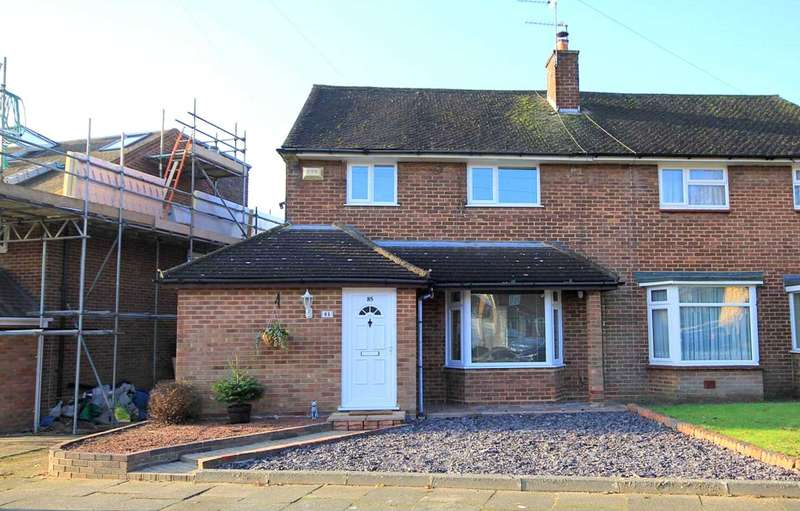 3 Bedrooms Semi Detached House for sale in 3 BED SEMI WITH GARAGE AND APPROX 100FT GARDEN IN SOUGHT AFTER New Park Drive, ADEYFIELD