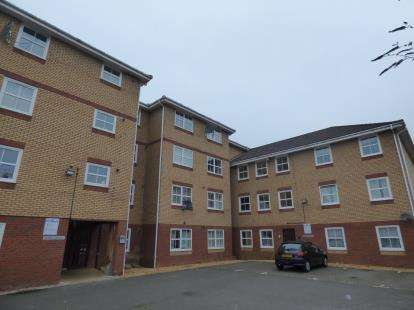 2 Bedrooms Flat for sale in Henry Bird Way, Southbridge, Northampton, Northamptonshire