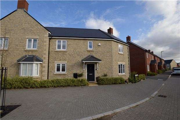 4 Bedrooms Semi Detached House for sale in Symphony Road, Up Hatherley, Cheltenham, GL51 6GJ