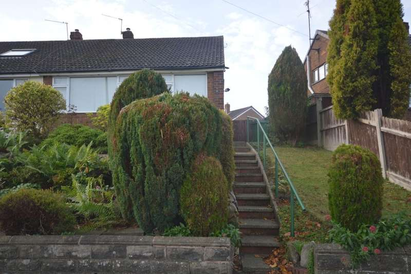 2 Bedrooms Semi Detached Bungalow for sale in East Road, Ketley Bank, Telford, TF2