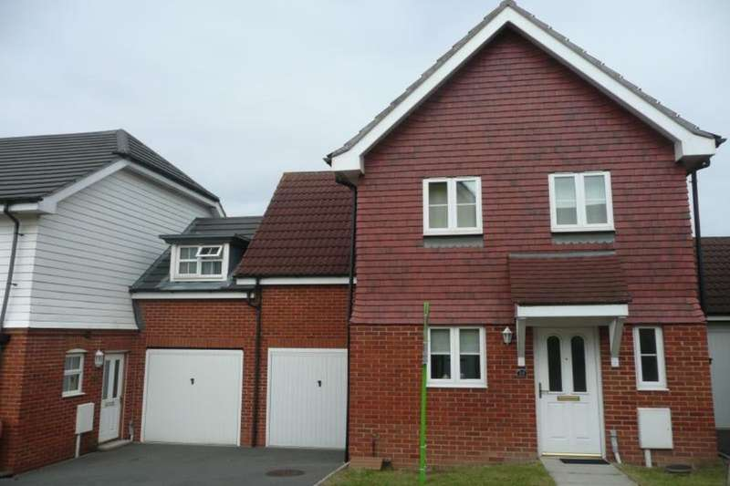 3 Bedrooms Detached House for sale in Gravelly Field, Ashford, TN23