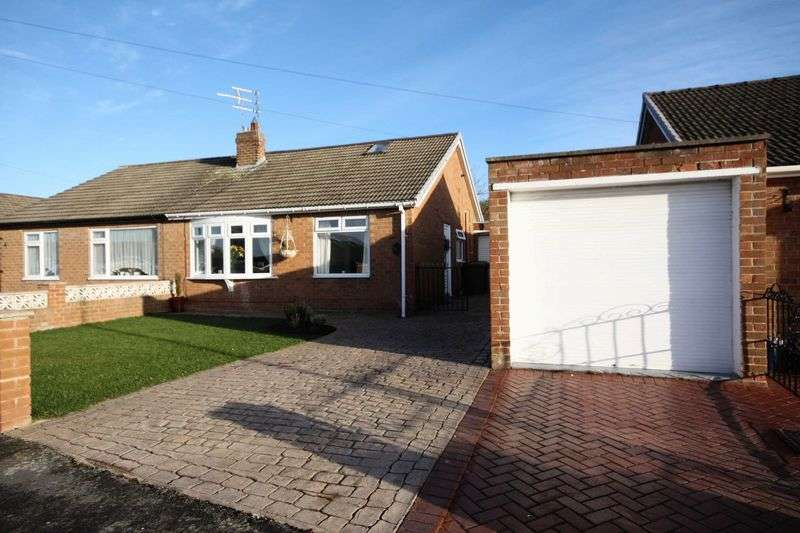 2 Bedrooms Bungalow for sale in Millholme Close, Brotton