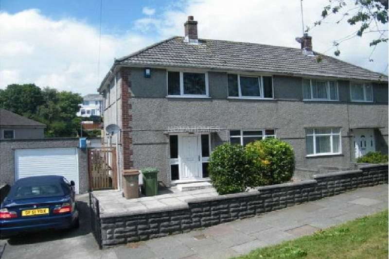 4 Bedrooms Semi Detached House for sale in Segrave Road, Plymouth, PL2 3DS