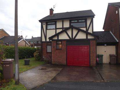3 Bedrooms Link Detached House for sale in Sandpiper Close, Newton-Le-Willows, Merseyside