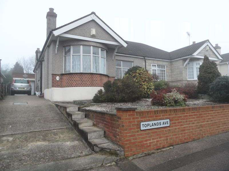 2 Bedrooms Semi Detached Bungalow for sale in Toplands Avenue, South Ockendon
