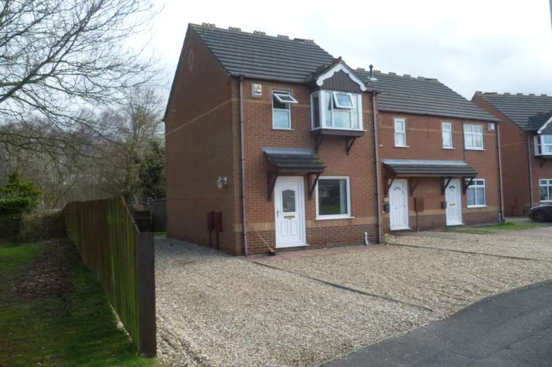 2 Bedrooms Property for sale in Nightingale Crescent, Lincoln, LN6