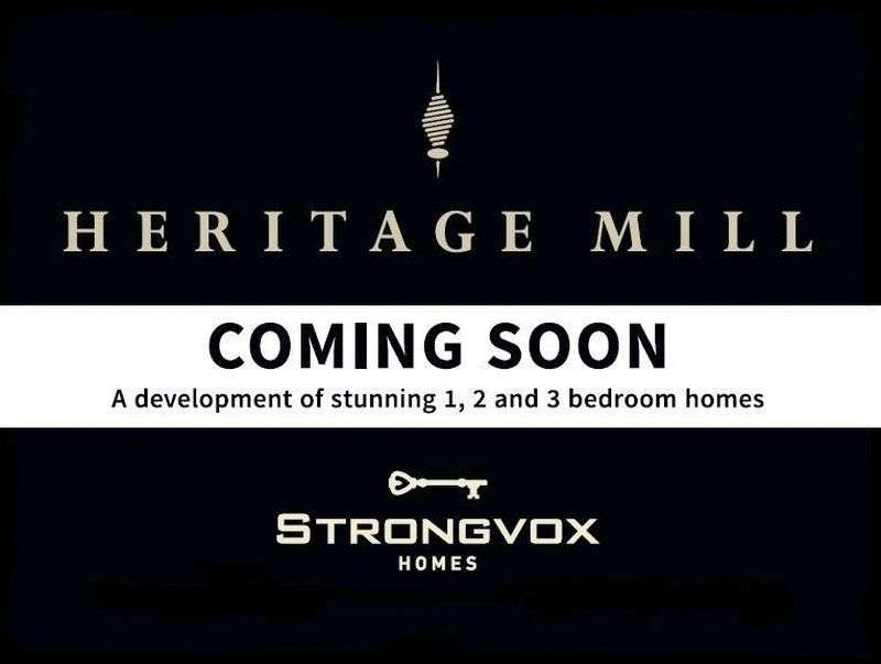 2 Bedrooms Flat for sale in Heritage Mill, Wellington