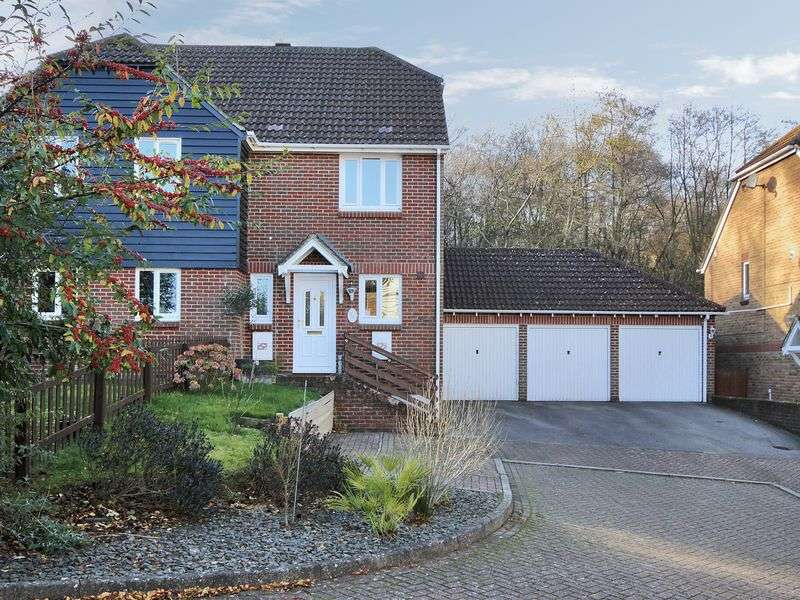 2 Bedrooms Semi Detached House for sale in William Morris Way, Tollgate Hill, Crawley, West Sussex