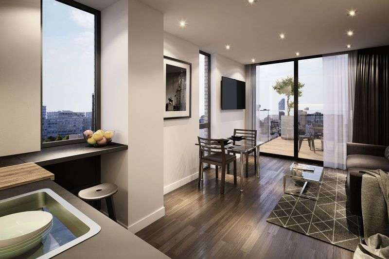 1 Bedroom Flat for sale in 4th Floor 1 Bed Apartment, One Wolstenholme Square, Liverpool