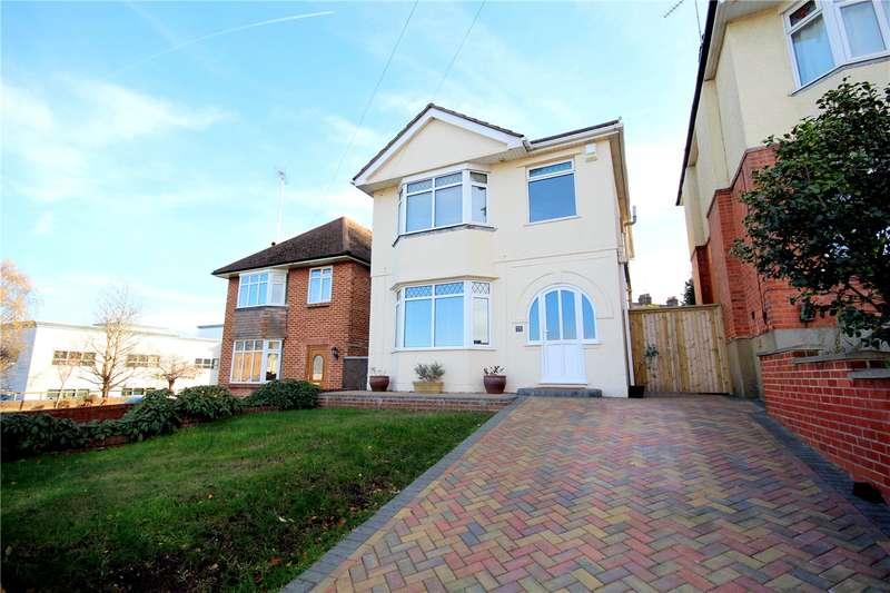 3 Bedrooms Detached House for sale in Wroxham Road, Branksome, Poole, Dorset, BH12