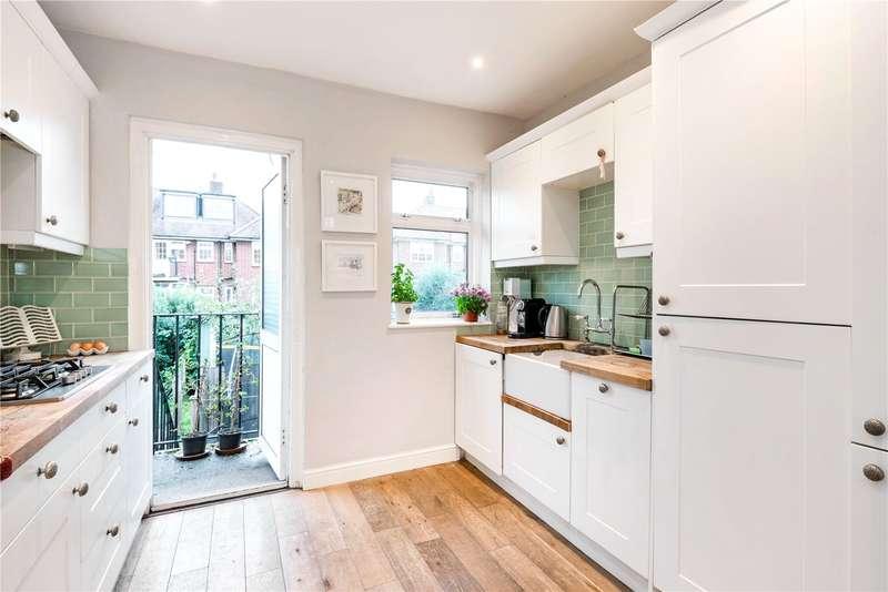 3 Bedrooms Flat for sale in Fieldview, London, SW18