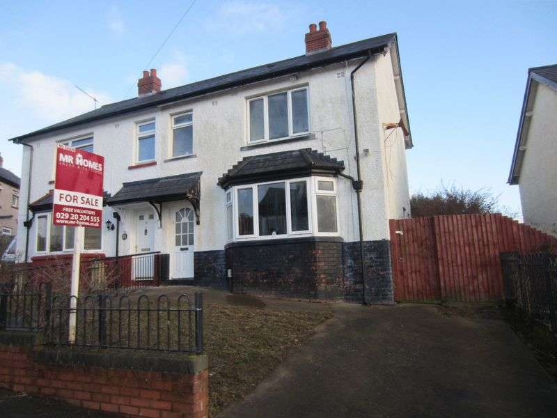 3 Bedrooms Semi Detached House for sale in Gwent Road Ely Cardiff CF5 4PB