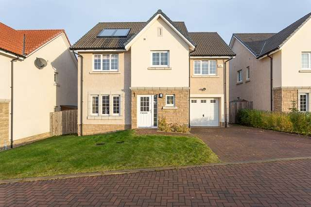 4 Bedrooms Detached House for sale in North Platt Gardens, Ratho, Edinburgh, EH28 8JU