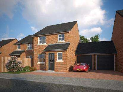 3 Bedrooms Link Detached House for sale in The Common, Knowle Lane, Buckley, Flintshire, CH7
