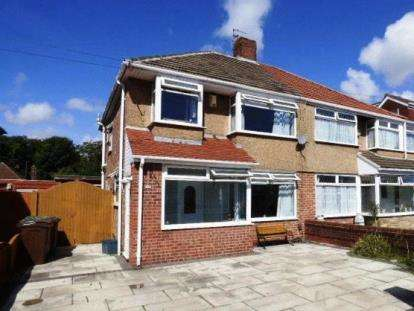 3 Bedrooms Semi Detached House for sale in Claremont Avenue, Maghull, Liverpool, Merseyside, L31